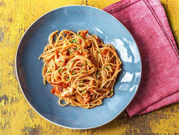 Tiger Prawn Spaghetti
