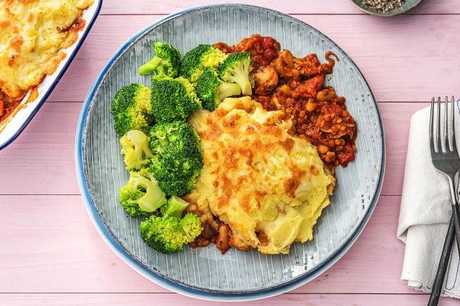 Low Calorie Meals - Veggie Shepherd's Pie