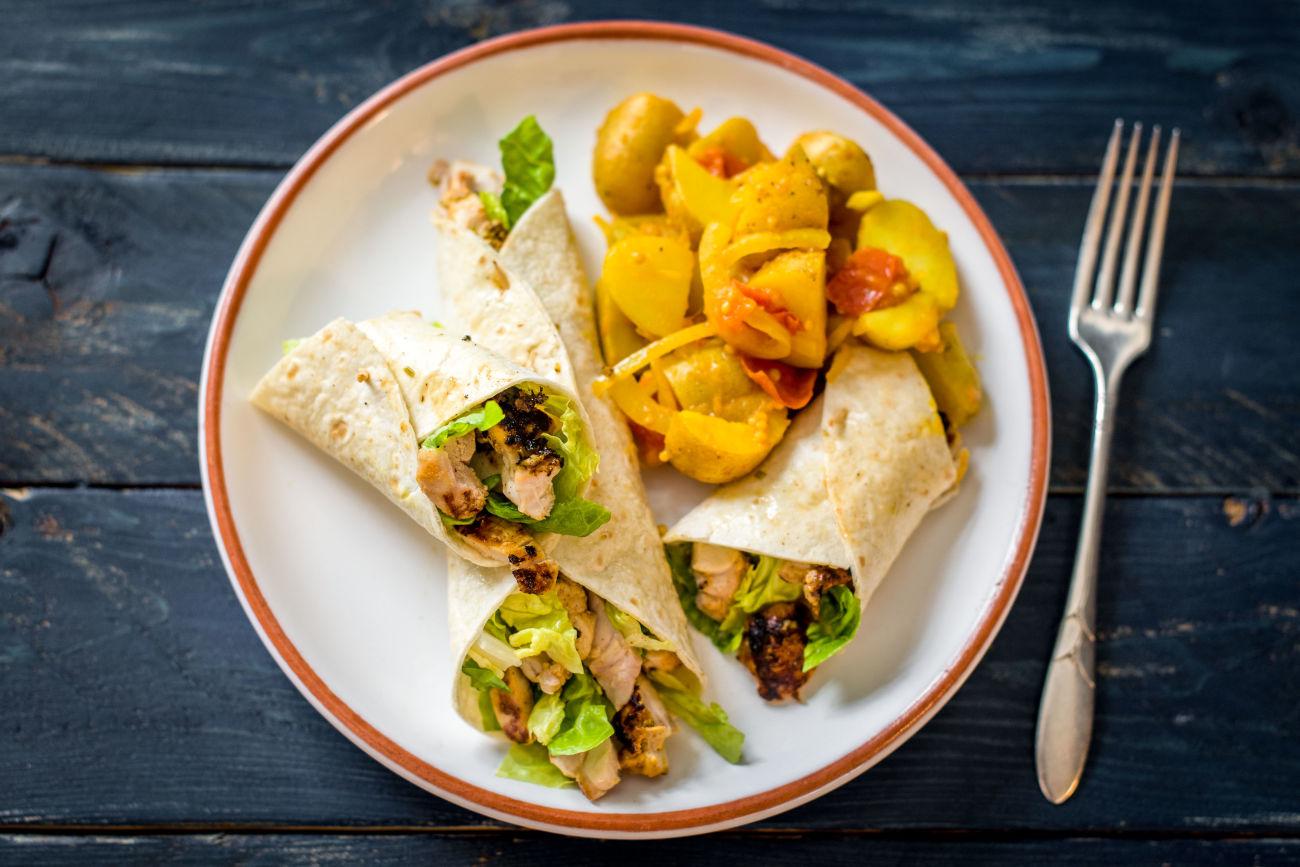 Chicken Tandoori Wraps