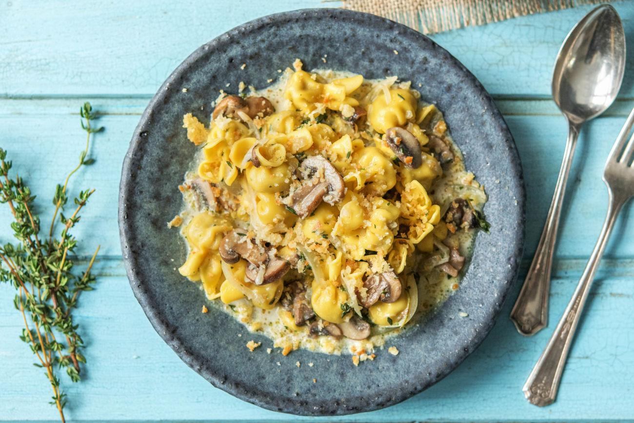 Fiorelli! Pastataschen mit Pilzfüllung,