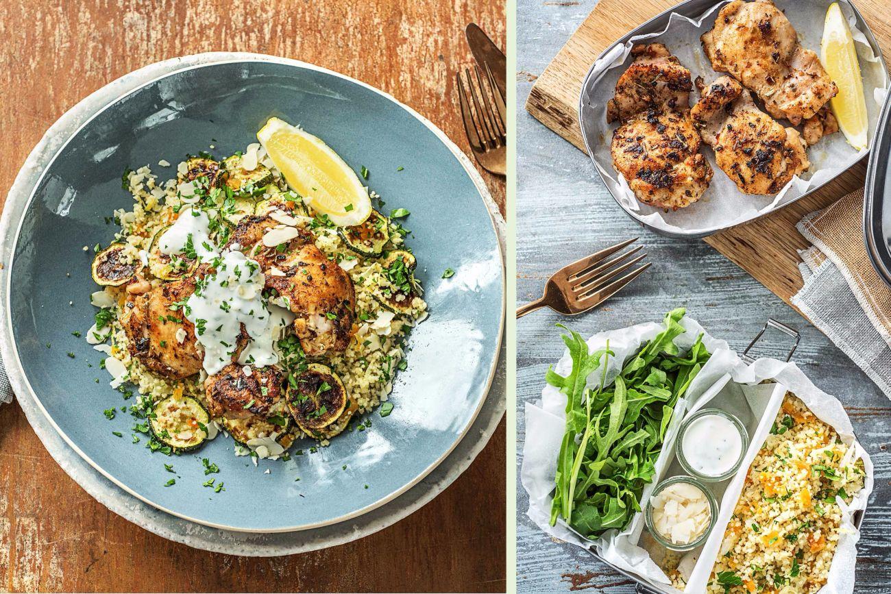Mediterranean Chicken Thigh Dinner Recipe | HelloFresh