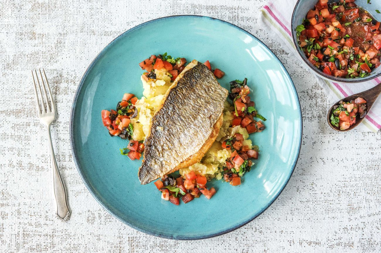 Pan-Fried Bream