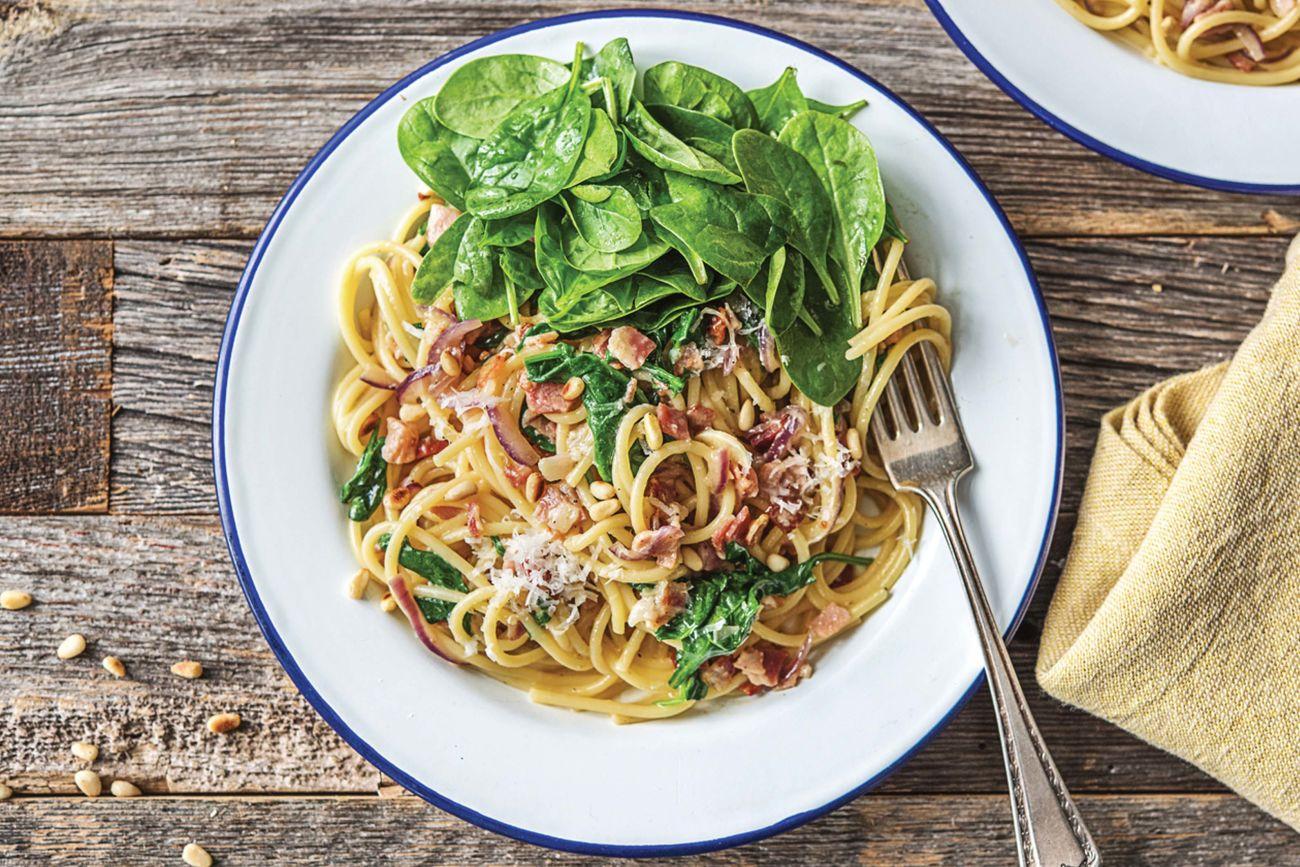 Easy Spaghetti alla Carbonara