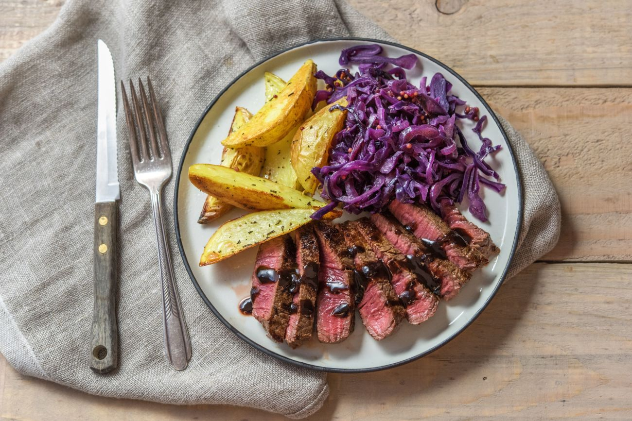 Hearty Steak and Potatoes