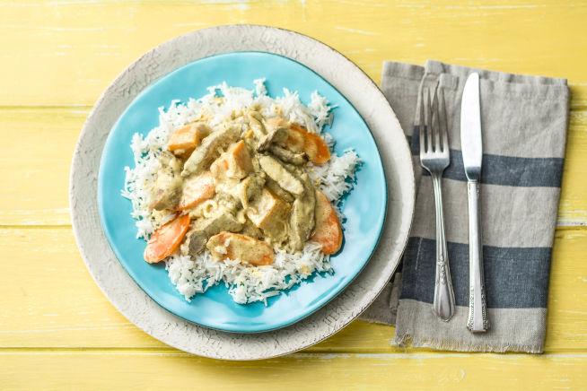 Low Carb Recipes - Beef & Pumpkin Massaman Curry