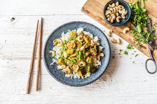 Veggie - Thai-Massaman-Curry
