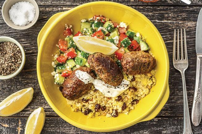Quick Meals - Herby Beef Koftas