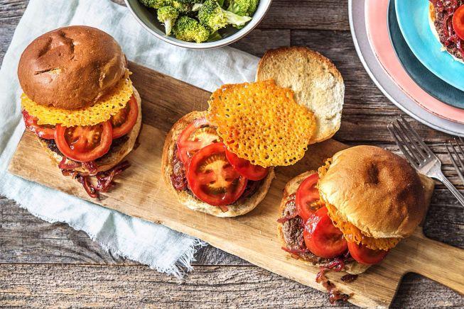 Hall Of Fame - Crispy Frico Cheeseburgers