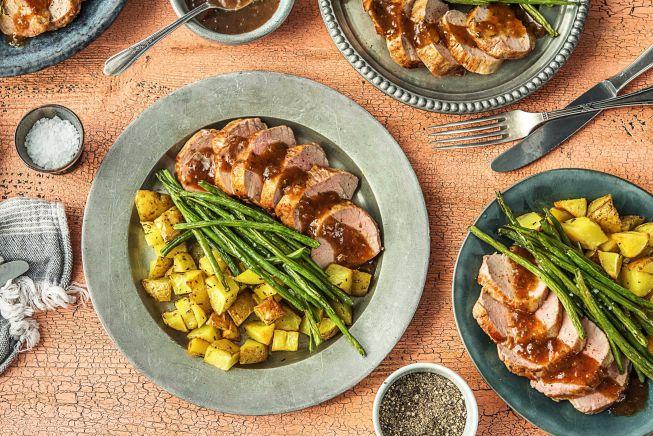 Quick meals - Figgy Pork Tenderloin