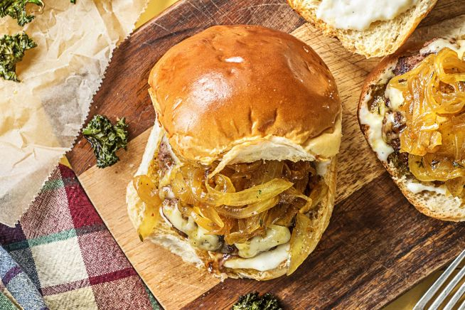 Quick meals - French Onion Burgers