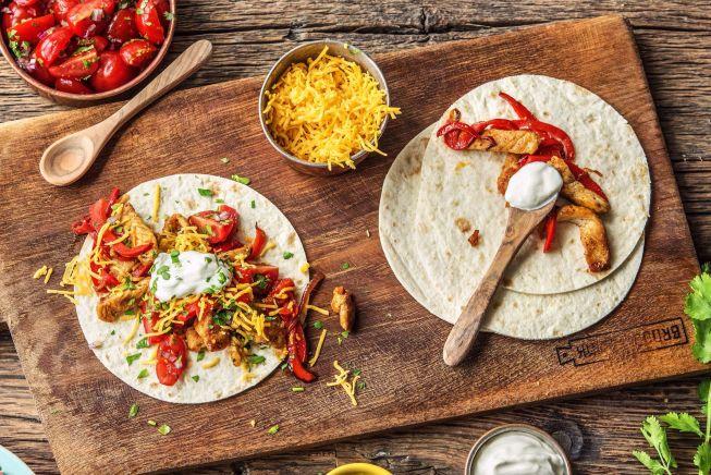 Quick meals - Fun-Day Fajita Bar