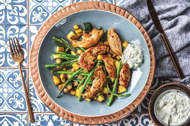 Quick Meals - Greek Chicken Dippers