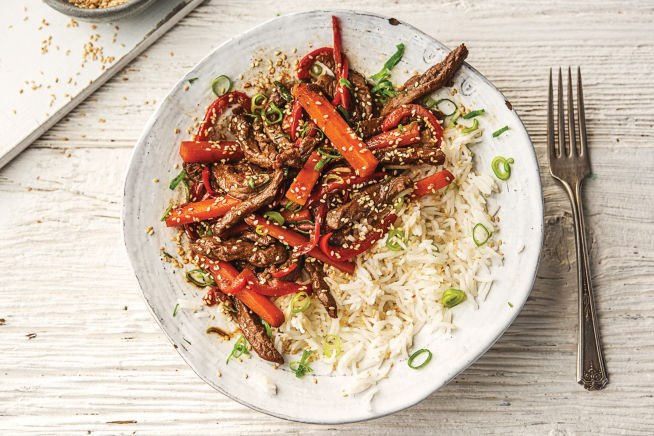 Quick Meals - Garlicky Hoisin Beef & Veggie Stir-fry