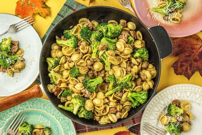 "Quick meals - ""Little Ears"" Pasta"