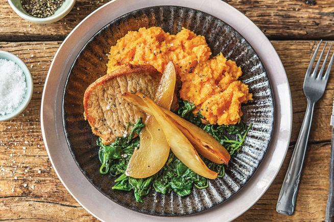 Quick Meals - Speedy Pork & Caramelised Pears