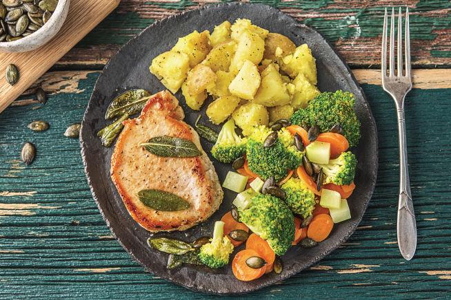 Quick Meals - Buttery-Sage Pork