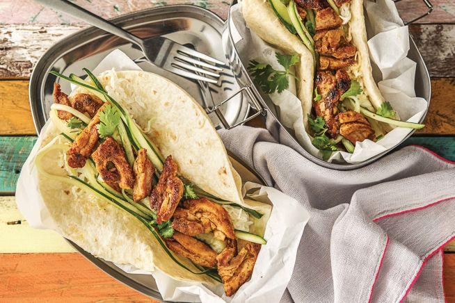 Quick Meals - Speedy Tandoori Chicken Chapati Wraps