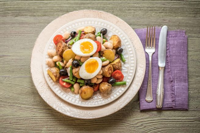 Low Carb Recipes - Veggie Niçoise Salad