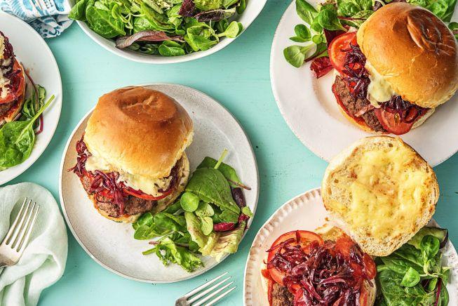 Family Friendly - Wonder-ful Italian Cheeseburgers
