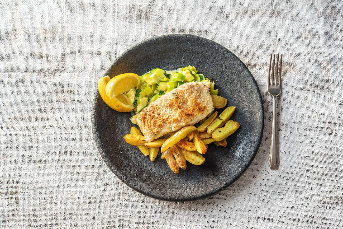 Herb Crusted Haddock