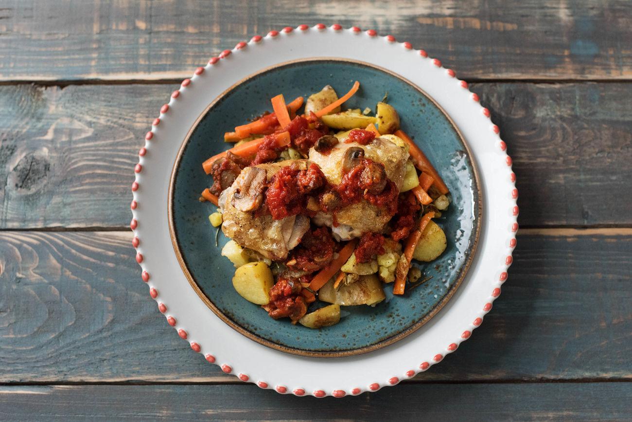Matador's Chicken and Chorizo Casserole