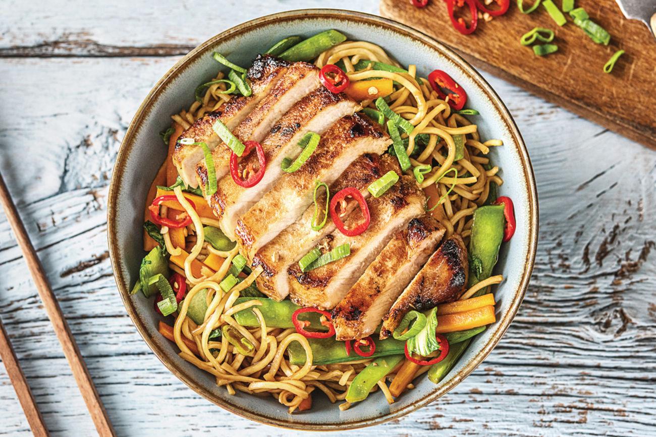 Sweet & Soy Pork Noodles