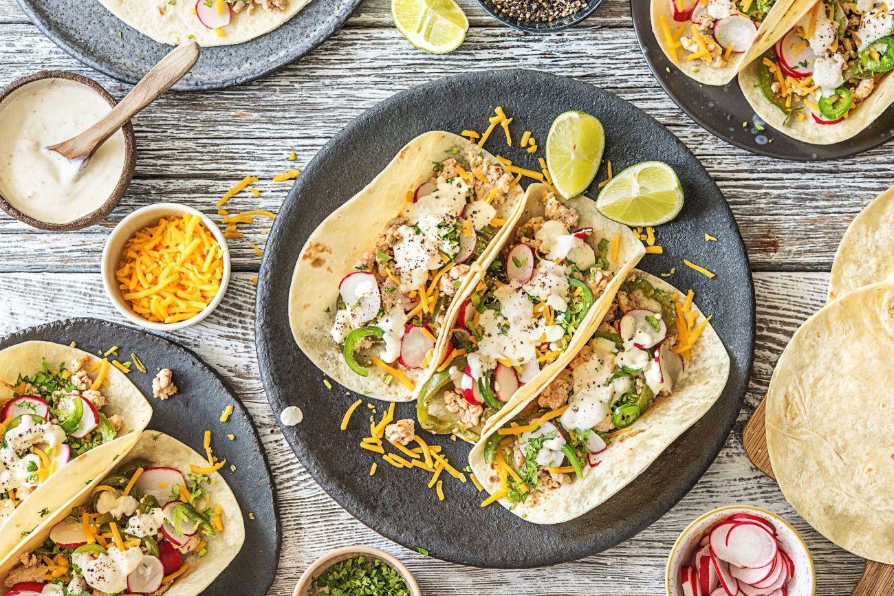 easy Mexican recipes-Turkey-Taco-Time-HelloFresh