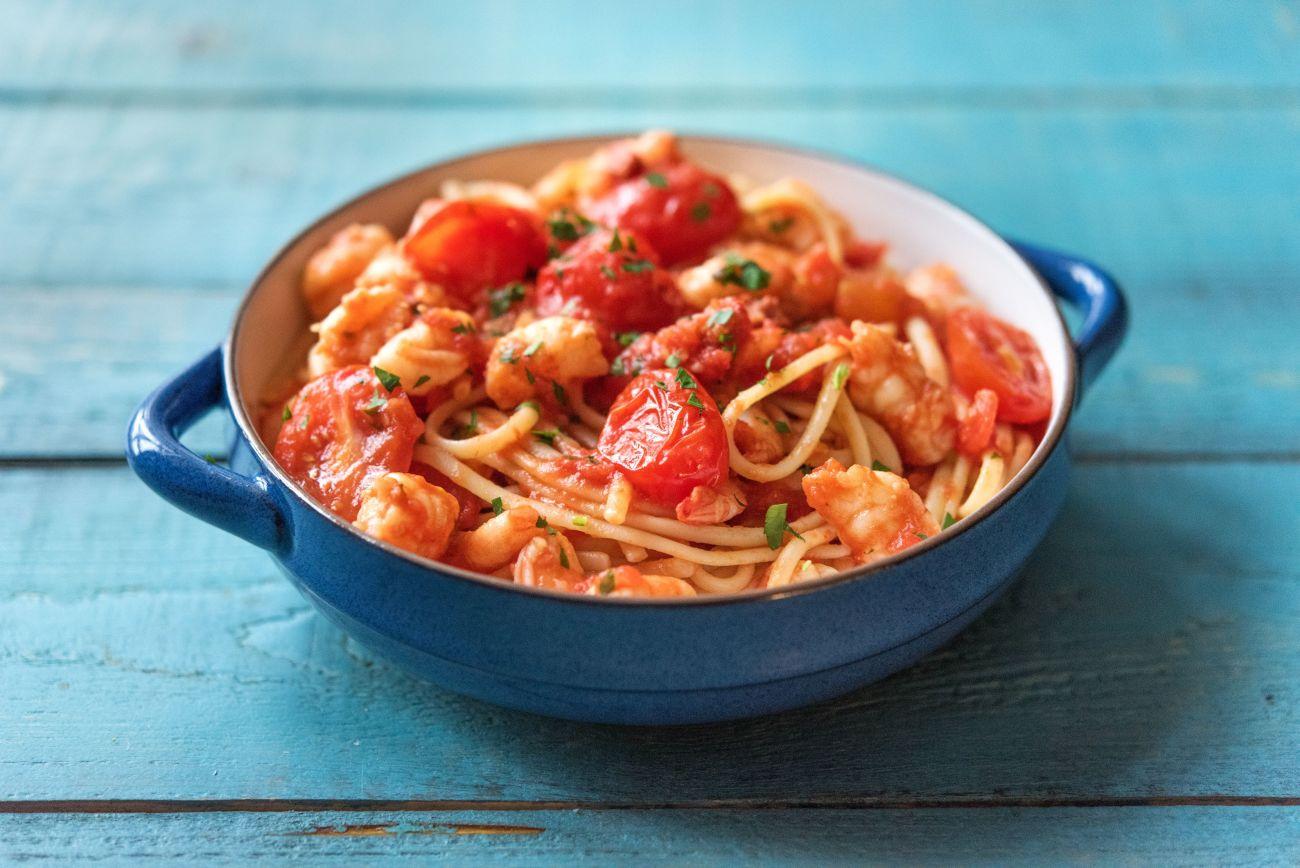 spanish style spaghetti recipe hellofresh