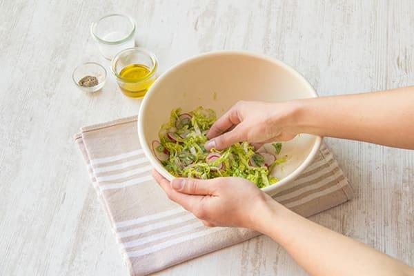 Prepare salad