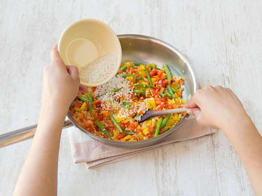 Reis zugeben