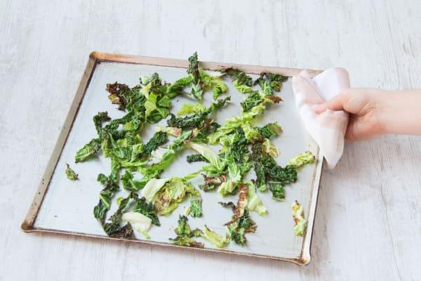 bake the kale