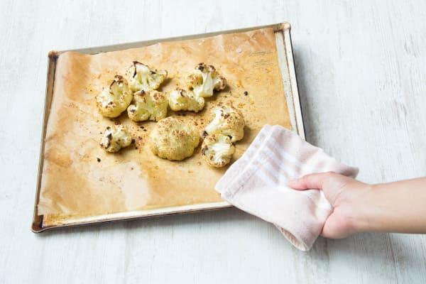 bake the cauliflower