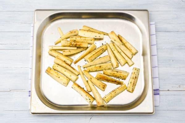 Roast the parsnips