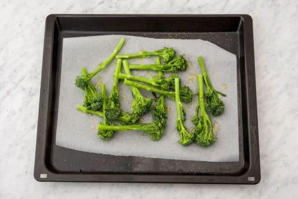 roast broccolini