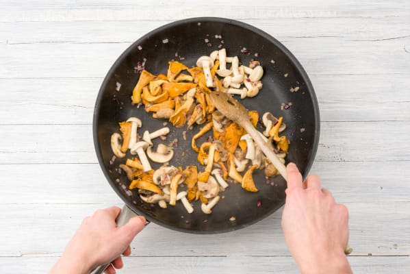 Cook your mushrooms