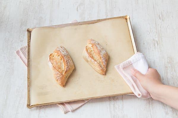 Bake the rolls