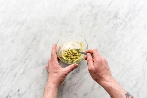 Make the avocado-lime dressing