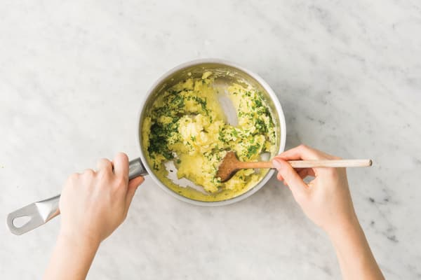 Make the parsley-mash