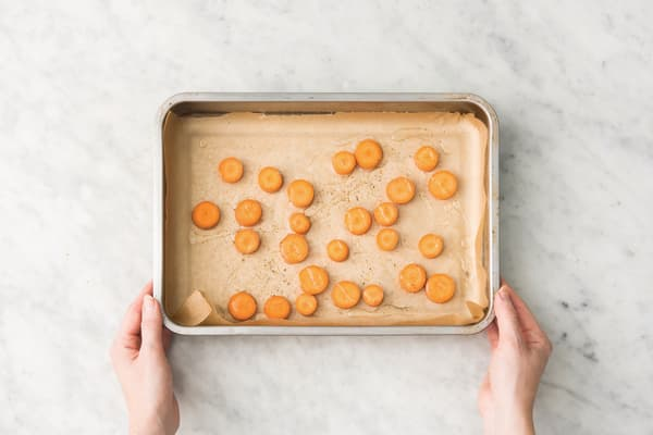 Roast the carrot