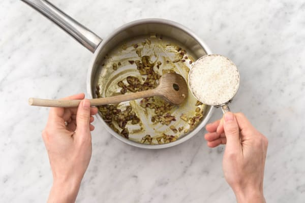 Make the pilaf