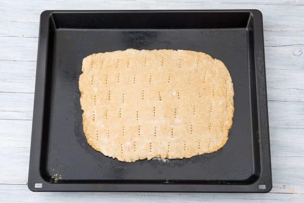 Prebake the dough