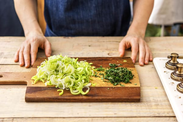 Prep the veg