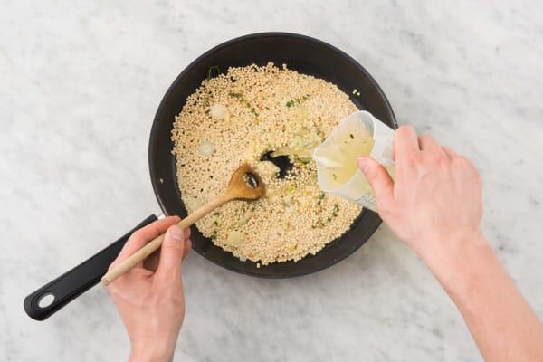Couscous Perle Aux Pois Chiches Croquants Recette Hellofresh