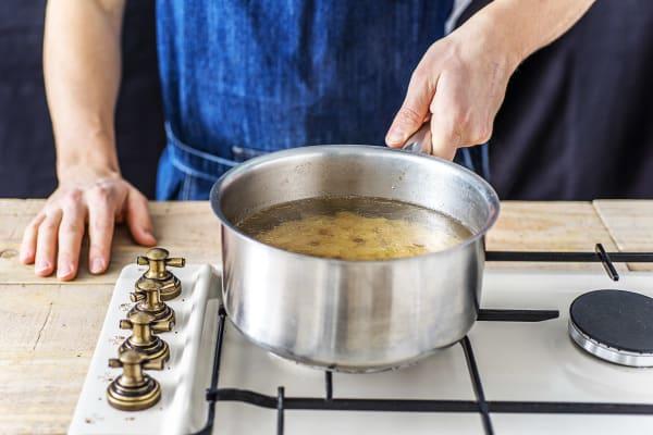 Cook the rIgatoni