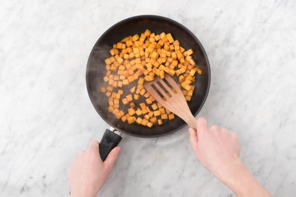 Cook the pumpkin