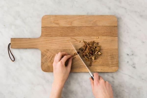 Snijden en koken