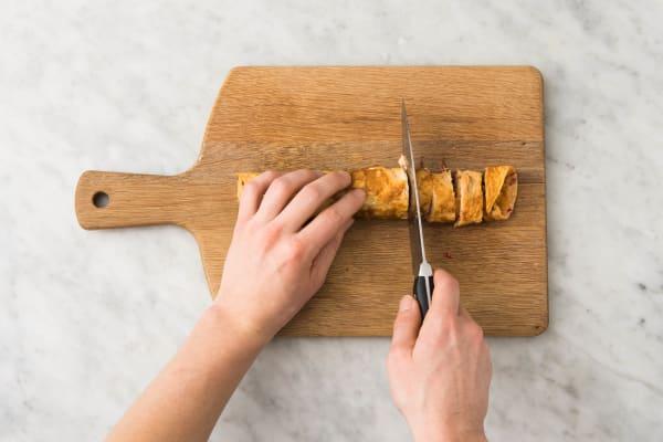 Omeletrolletjes maken
