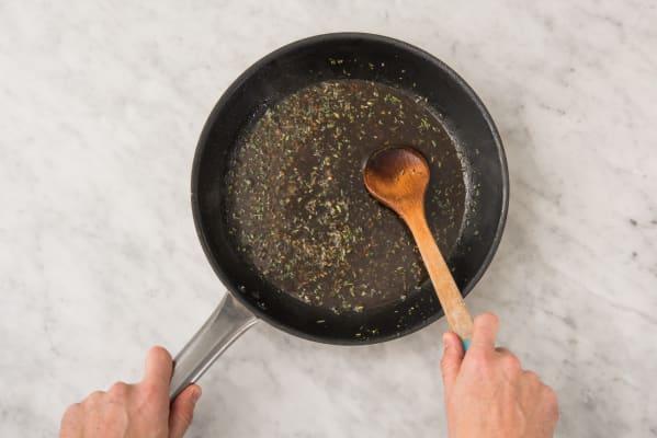 5 MAKE PAN SAUCE