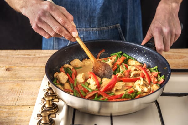Stir-Fry the Chicken