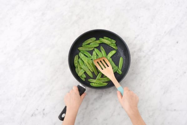Cook Snow Peas